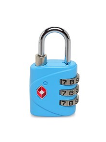 Teakwood Metal Cyan Lock